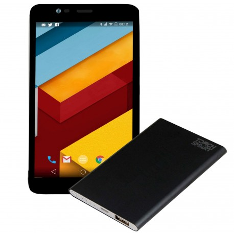 "Tablet Touch Smart PRO GP Android 5.1 Lollipop RAM 2GB DD 16GB 7"" 4G- Negro"