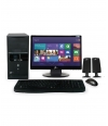 "Desktop PC Smart PS1901W Intel Pentium DC RAM 4GB DD 500GB Windows 8.1 20"" - Negro"